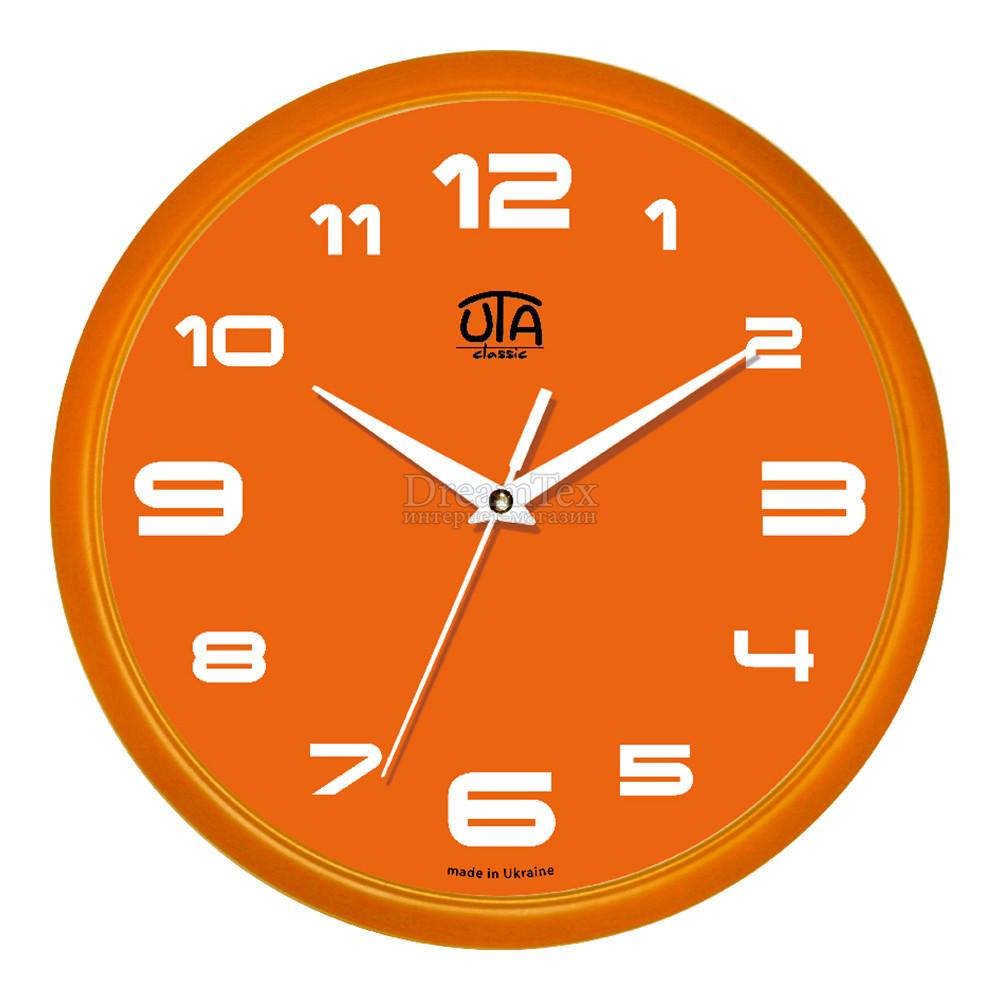 """Часы настенные ЮТА Classic """"01 Or 77"""" 300х300х45 мм"""