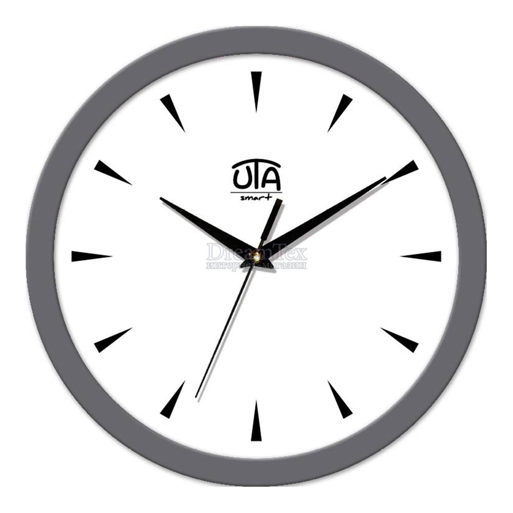 "Часы настенные ЮТА Smart ""22 GY 05"" 265х265х35 мм (механизм плавного хода)"