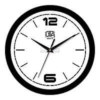 "Часы настенные ЮТА Smart ""21 B 10"" 265х265х35 мм (механизм плавного хода)"
