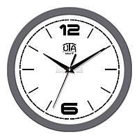 "Часы настенные ЮТА Smart ""21 GY 10"" 265х265х35 мм (механизм плавного хода)"