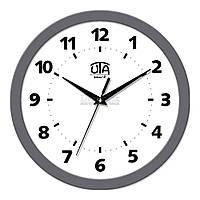 "Часы настенные ЮТА Smart ""21 GY 14"" 265х265х35 мм (механизм плавного хода)"