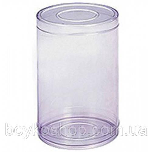Тубус пластиковый пищевой 100*130