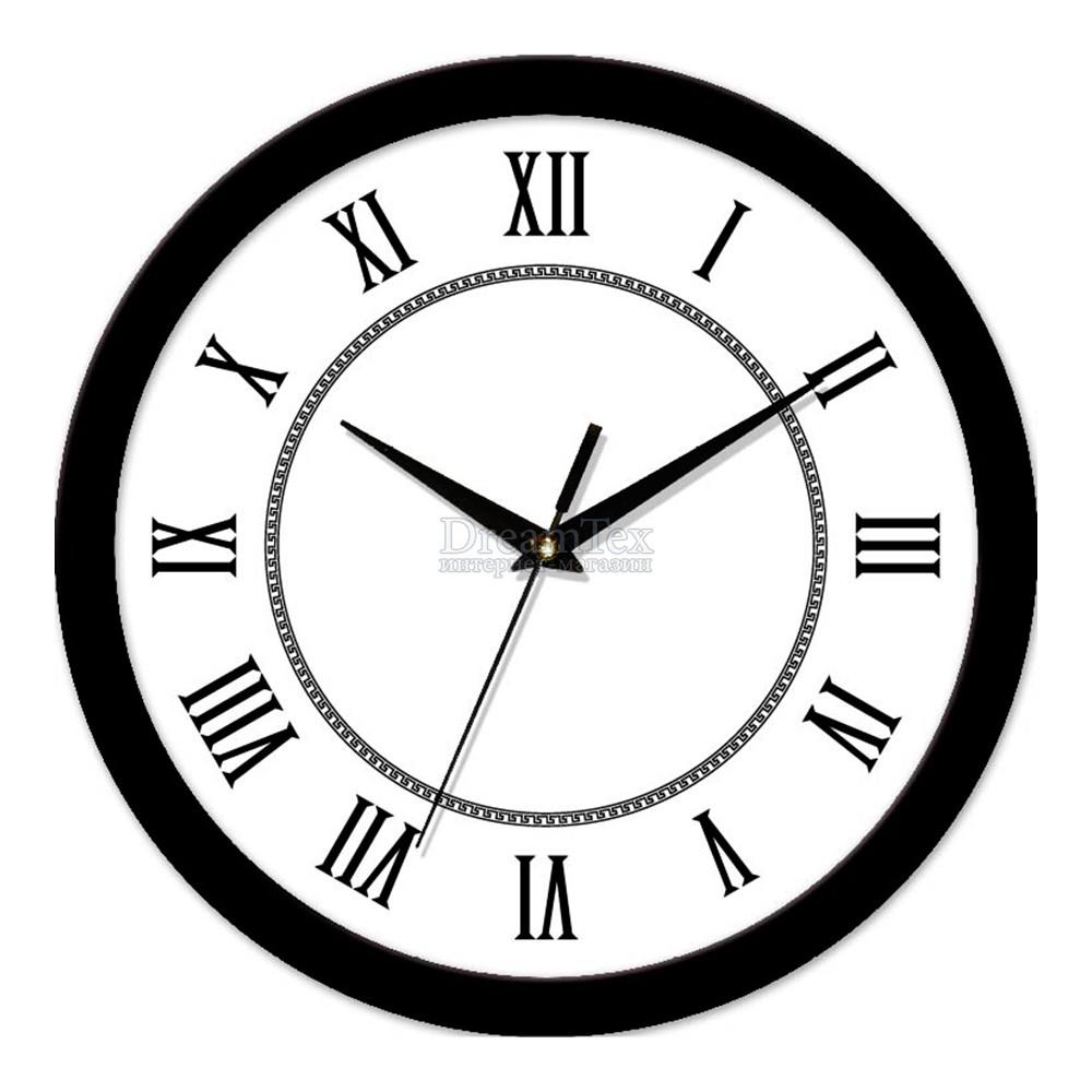 "Часы настенные ЮТА Smart ""21 B 18"" 265х265х35 мм (механизм плавного хода)"