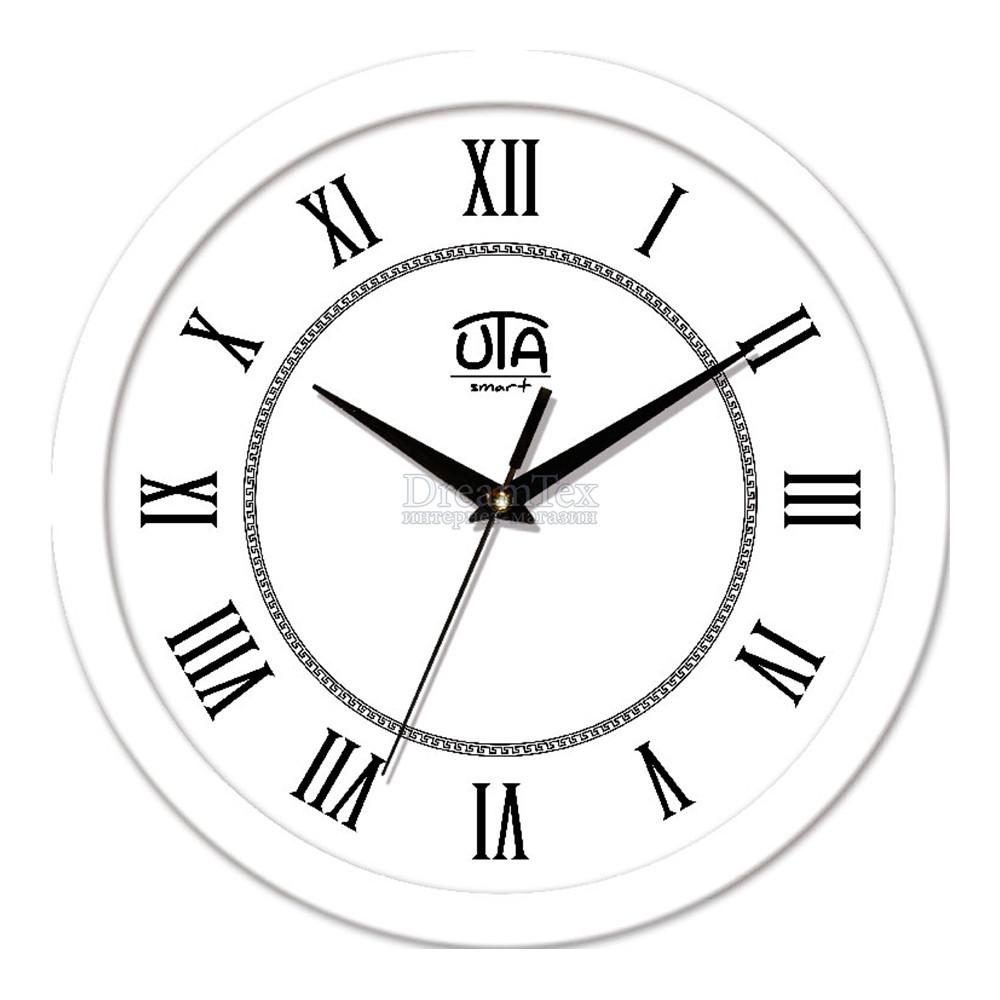 "Часы настенные ЮТА Smart ""21 W 18"" 265х265х35 мм (механизм плавного хода)"