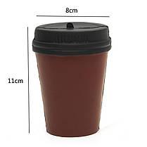 Симпатичные Squishy медленно растущий Jumb коричневый чашка кофе малыш Addult игрушки Домашнее украшение, фото 3