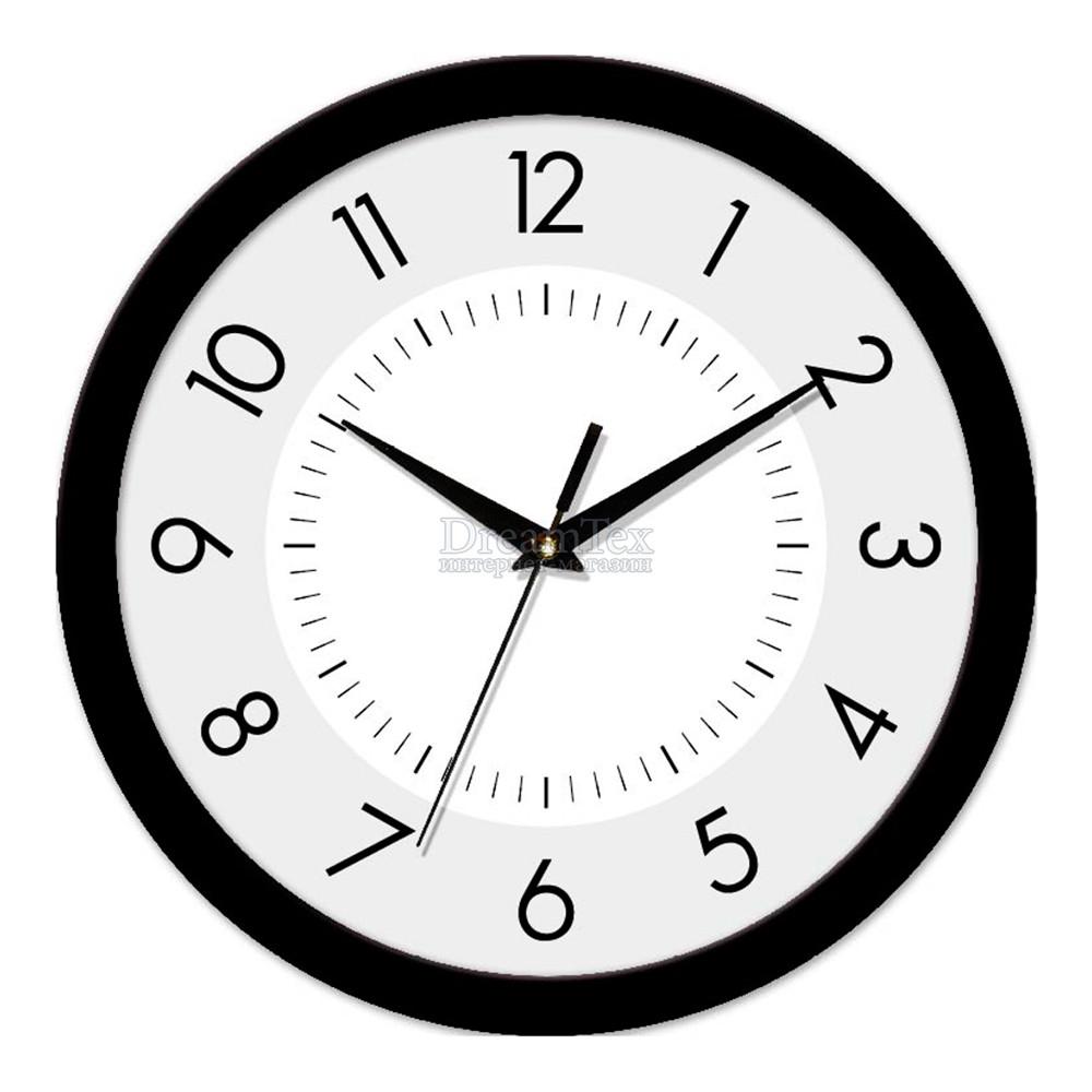 "Часы настенные ЮТА Smart ""21 B 22"" 265х265х35 мм (механизм плавного хода)"