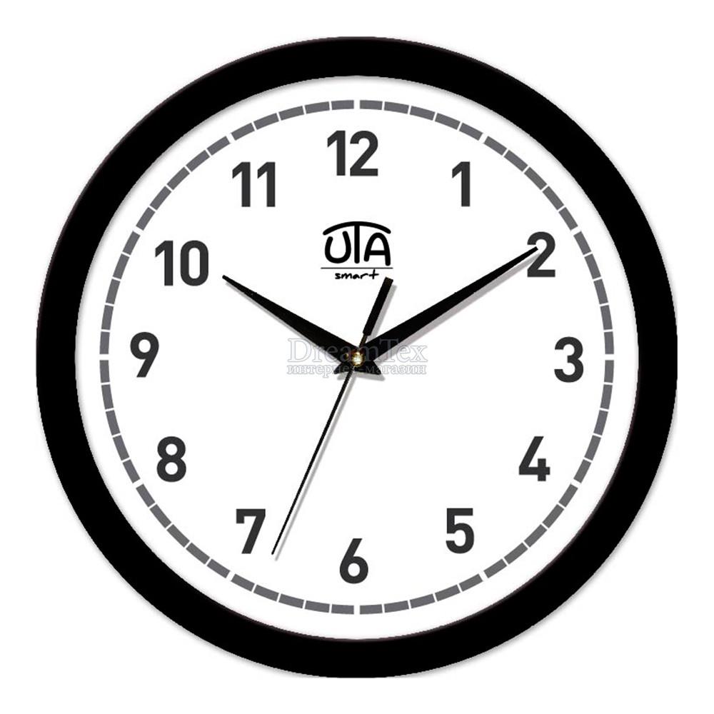 """Часы настенные ЮТА Smart """"21 B 03"""" 265х265х35 мм (дискретный механизм)"""