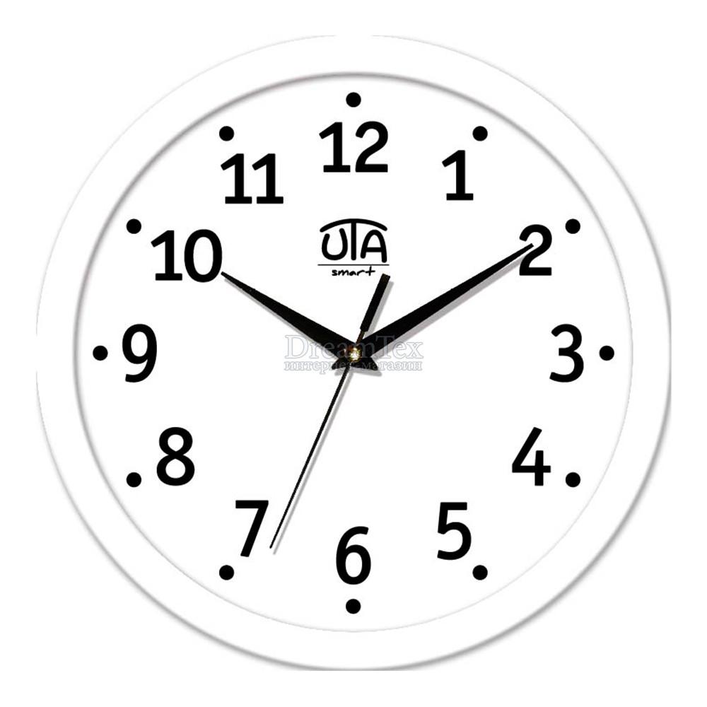 """Часы настенные ЮТА Smart """"21 W 04"""" 265х265х35 мм (дискретный механизм)"""
