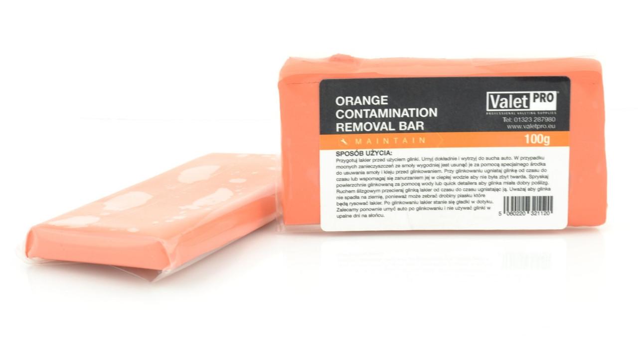 Valet Pro Orange Ultra Fine Clay очень мягкая глина для деликатной очистки ЛКП