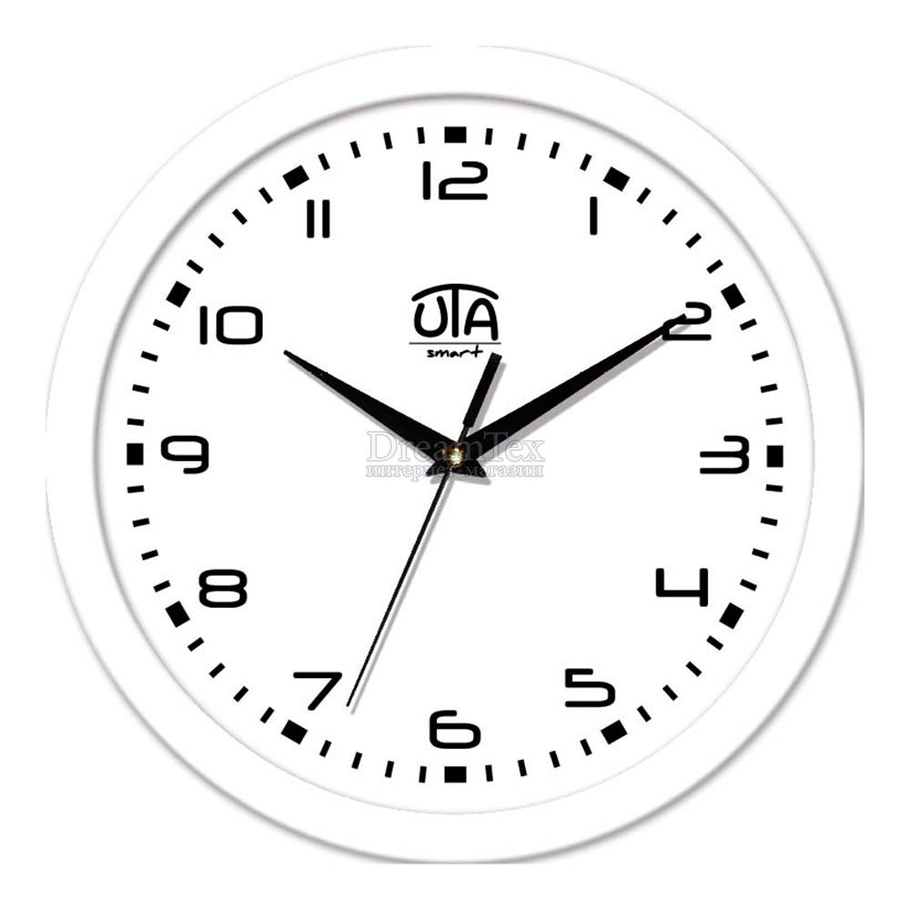 """Часы настенные ЮТА Smart """"22W 06"""" 265х265х35 мм (дискретный механизм)"""