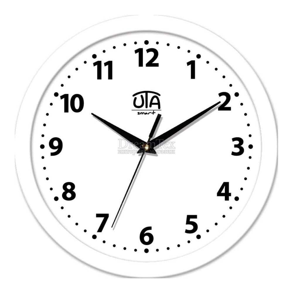 """Часы настенные ЮТА Smart """"21 W 09"""" 265х265х35 мм (дискретный механизм)"""
