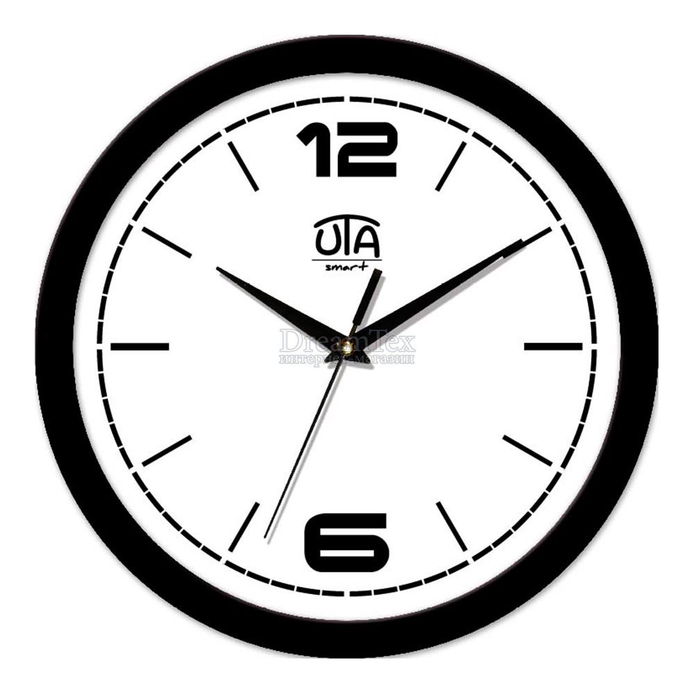"""Часы настенные ЮТА Smart """"21 B 10"""" 265х265х35 мм (дискретный механизм)"""