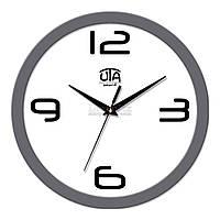 """Часы настенные ЮТА Smart """"21 GY 24"""" 265х265х35 мм (дискретный механизм)"""