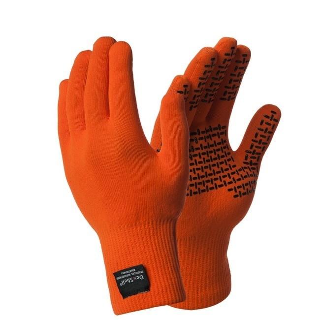 Перчатки водонепроницаемые Dexshell ThermFit TR оранжевые (DG326T)