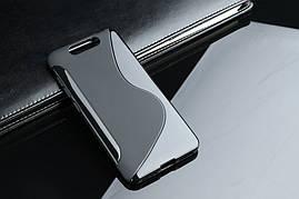 Чехол ZTE Blade V8 силикон S-LINE черный