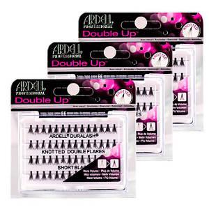 Двойные узелковые пучковые ресницы Ardell™ Duralash Knotted Double Flares Individual Lashes
