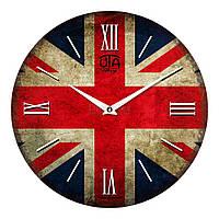 """Часы настенные ЮТА Vintage """"013 VT"""" 330х330х30 мм"""