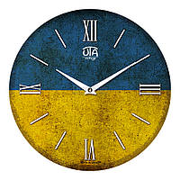 """Часы настенные ЮТА Vintage """"016 VT"""" 330х330х30 мм"""