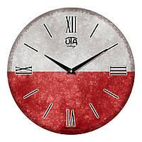 """Часы настенные ЮТА Vintage """"017 VT"""" 330х330х30 мм"""