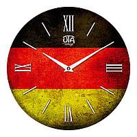 """Часы настенные ЮТА Vintage """"019 VT"""" 330х330х30 мм"""