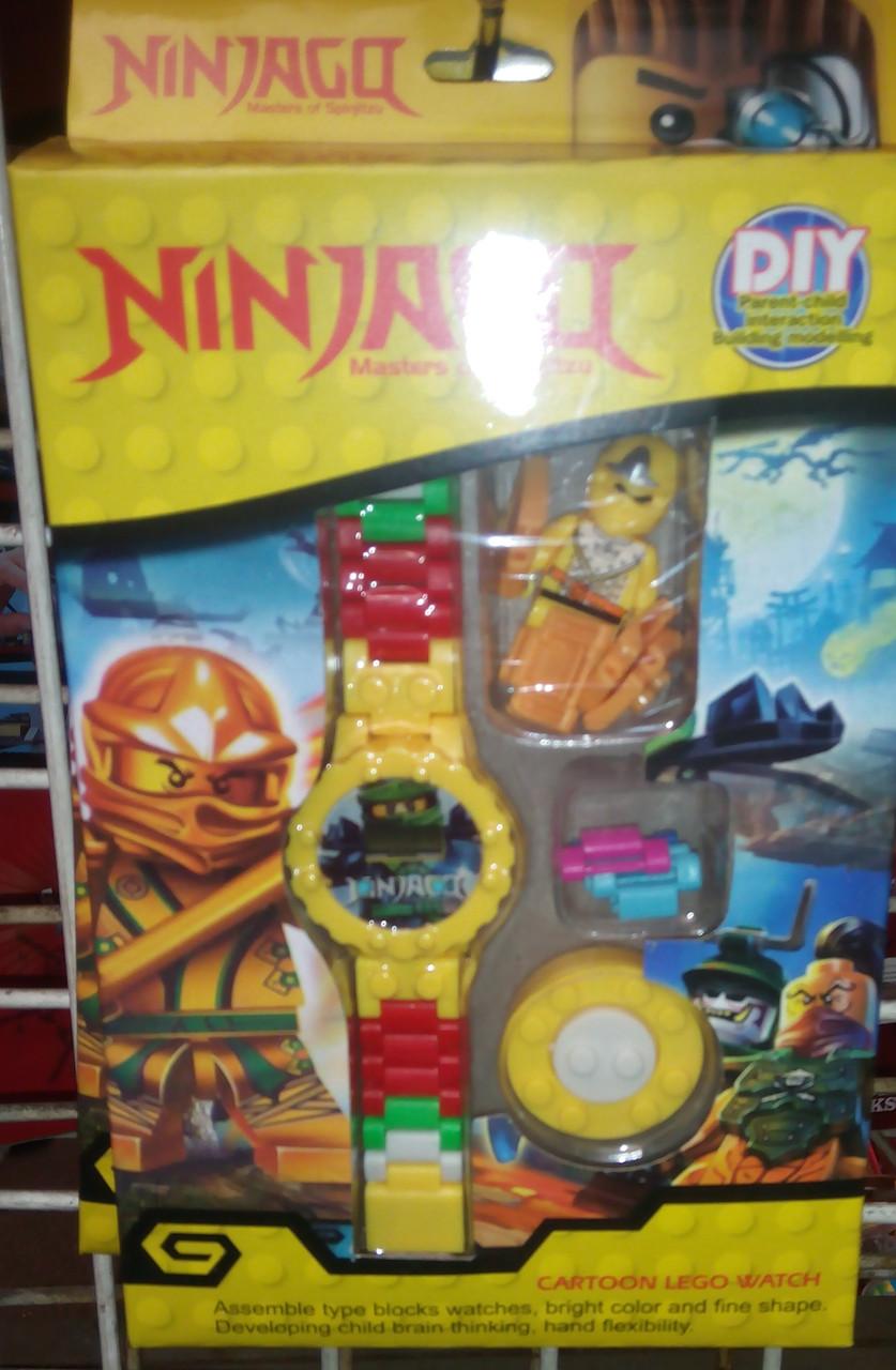 Часы лего ниндзяго