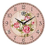 """Часы настенные UTA Vintage """"004 VP"""" 330х330х30 мм"""