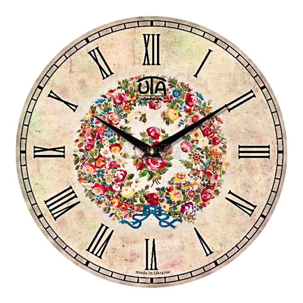 """Часы настенные ЮТА Vintage """"009 VP"""" 330х330х30 мм"""