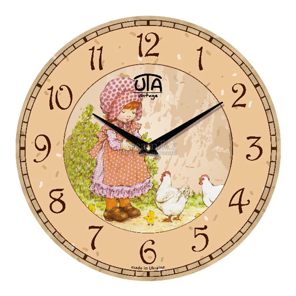 """Часы настенные ЮТА Vintage """"012 VP"""" 330х330х30 мм"""