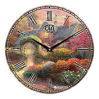 """Часы настенные UTA Vintage """"022 VP"""" 330х330х30 мм"""