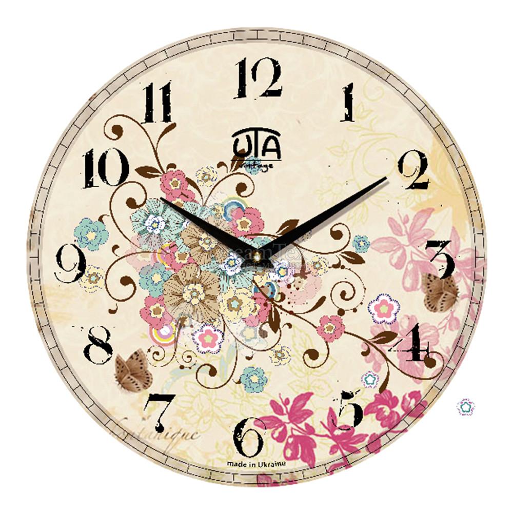 """Часы настенные ЮТА Vintage """"037 VP"""" 330х330х30 мм"""