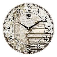 """Часы настенные ЮТА Vintage """"042 VP"""" 330х330х30 мм"""