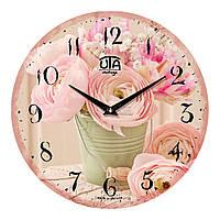 """Часы настенные ЮТА Vintage """"044 VP"""" 330х330х30 мм"""