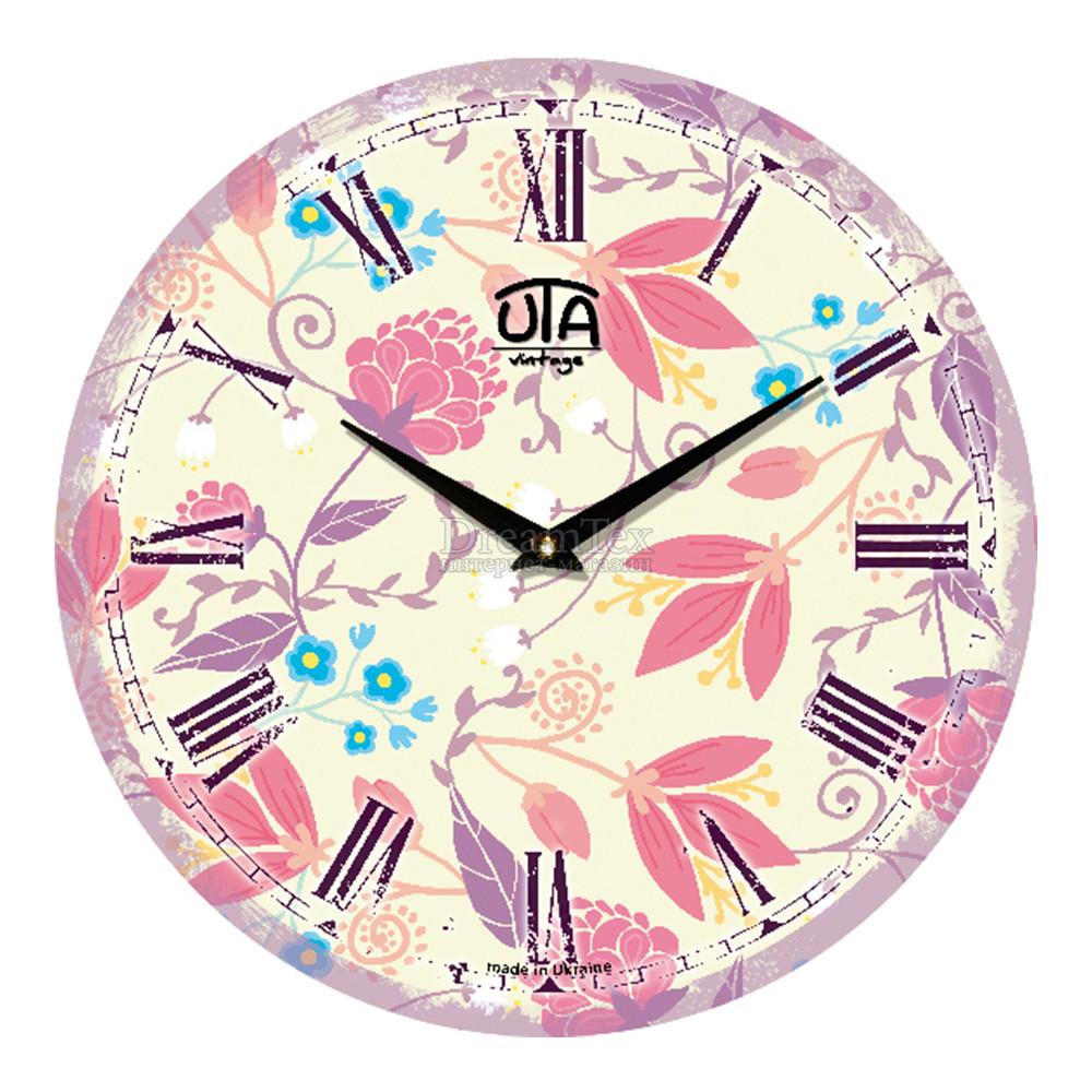 """Часы настенные ЮТА Vintage """"043 VP"""" 330х330х30 мм"""