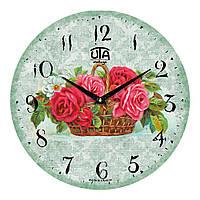 """Часы настенные ЮТА Vintage """"045 VP"""" 330х330х30 мм"""
