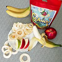 "Чипсы яблочные ""Слайсы яблочные сушеные (Банан)"" 33г"