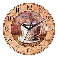 """Часы настенные ЮТА Vintage """"071 VP"""" 330х330х30 мм"""