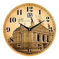 """Часы настенные ЮТА History """"01 HLv"""" 330х330х30 мм"""