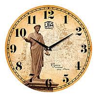 "Часы настенные UTA History ""01 HO"" 330х330х30 мм"