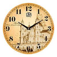 "Часы настенные UTA History ""01 HPo"" 330х330х30 мм"