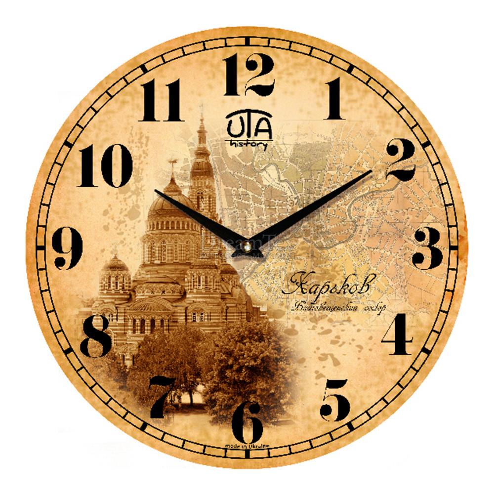 """Часы настенные ЮТА History """"01 HKh"""" 330х330х30 мм"""