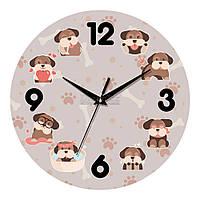 "Часы настенные UTA Country ""С15"" 301х301х30 мм"