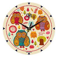 """Часы настенные ЮТА MiNi """"M 18"""" 240х240х30 мм"""