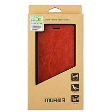 Чехол (книжка) Mofi на Meizu Pro 7 Brown, фото 3