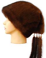Женская норковая шапка,Козачок2