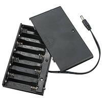 5 штук DIY 12V 8 x AA Батарея Держатель Коробка Чехол с переключателем контактов