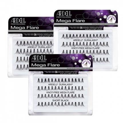 Мега-обьемные пучковые накладные ресницы Ardell™ Mega Flare Individual Lashes, фото 2