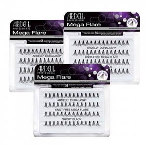 Мега-обьемные пучковые накладные ресницы Ardell™ Mega Flare Individual Lashes