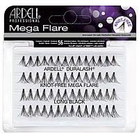 Мега-обьемные пучковые накладные ресницы Ardell™ Mega Flare Individual Lashes Long - 14 мм.