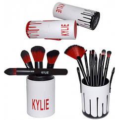 Набор кистей для макияжа Kylie Jenner 12 шт, реплика