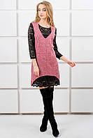 Платье Монита (розовый)